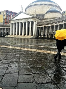 Naples in the rain