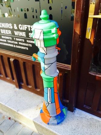 Graffiti water hydrant