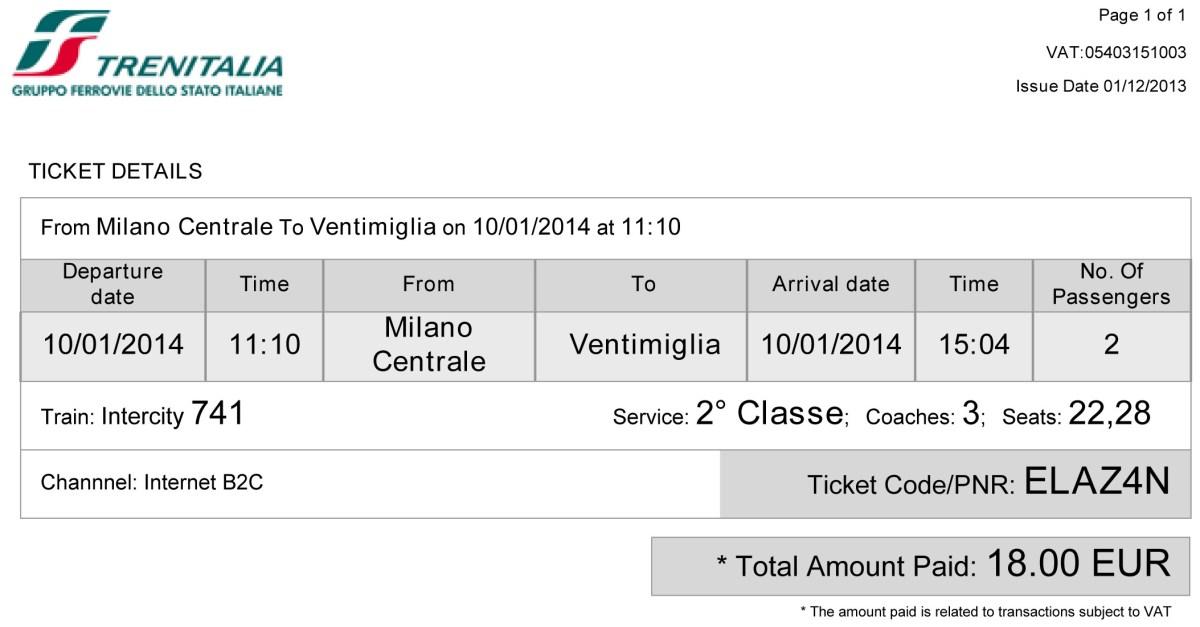 Ticket_Train_January 10_Milan-Ventimiglia