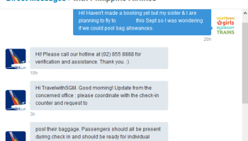 7 KG PLUS: The carry-on baggage policies of Philippine