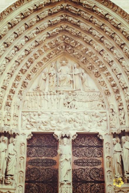 Notre Dame Door