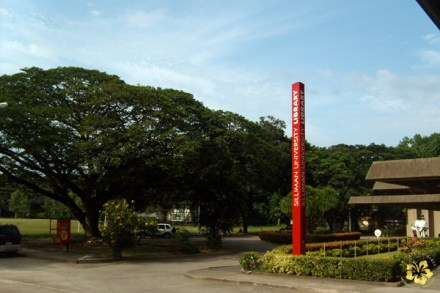 The Silliman University library
