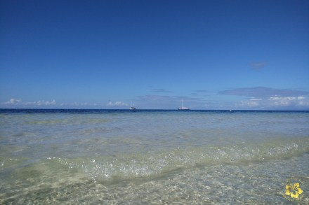 The waters of Camotes island, Cebu