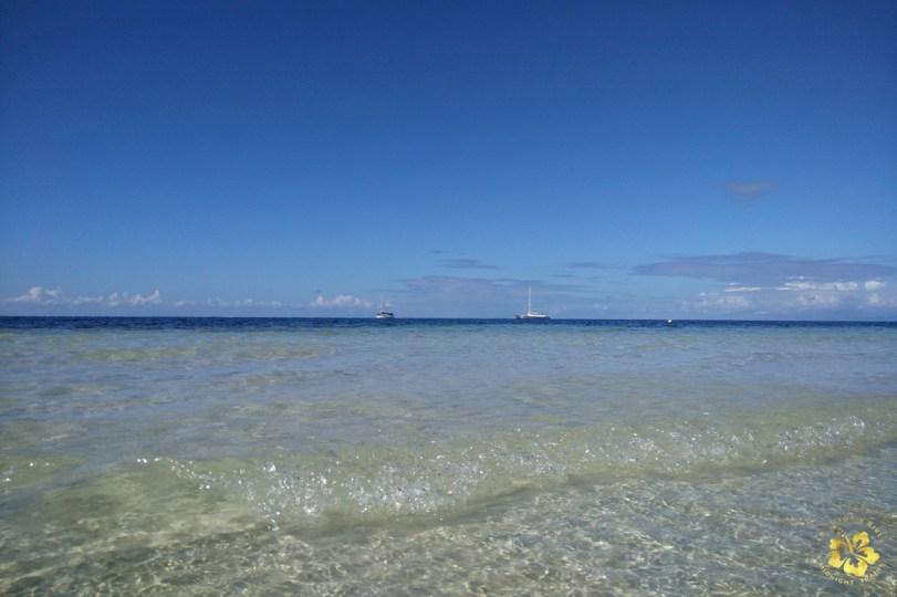 The waters of Camotes island, Cebu