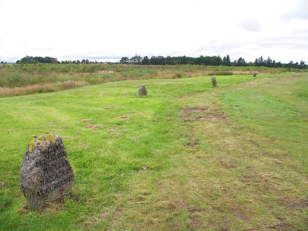 Clan grave stones at Culloden | Image by Shadowgate | CC BY 2.0