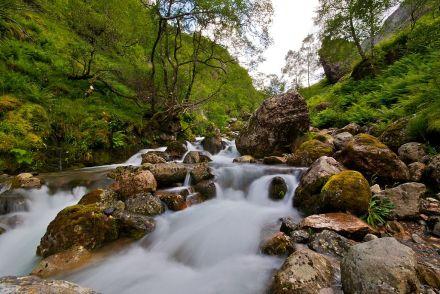 Glencoe waterfall   Image by Gil Cavalcanti   CC BY-SA 3.0