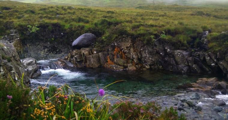 The fairy pools of Skye