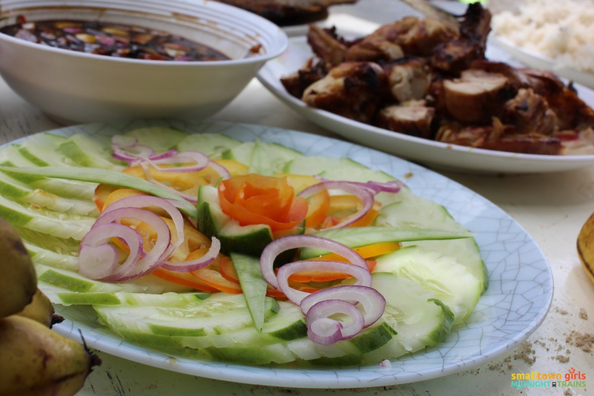 El Nido paradise combo tour A and C -- One of the best things about island hopping tours in El Nido: the food!