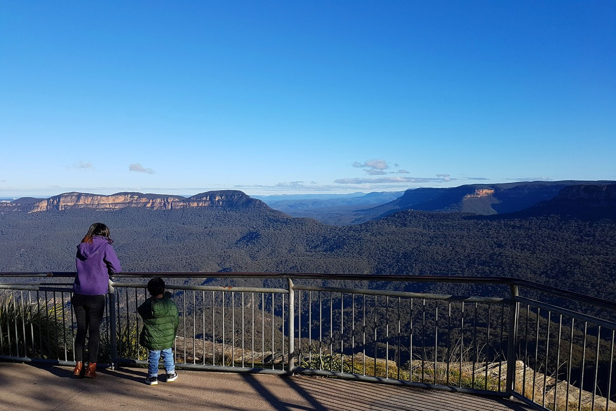 Blue Mountains Katoomba Echo Point