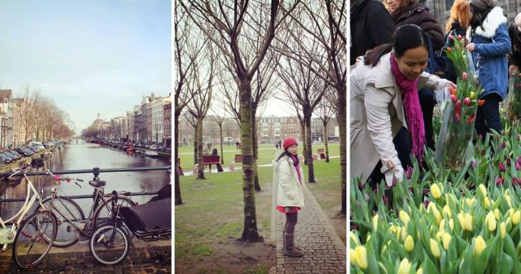 Busking in Amsterdam