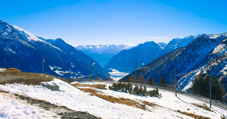 Taking the long way home: The Bernina Express