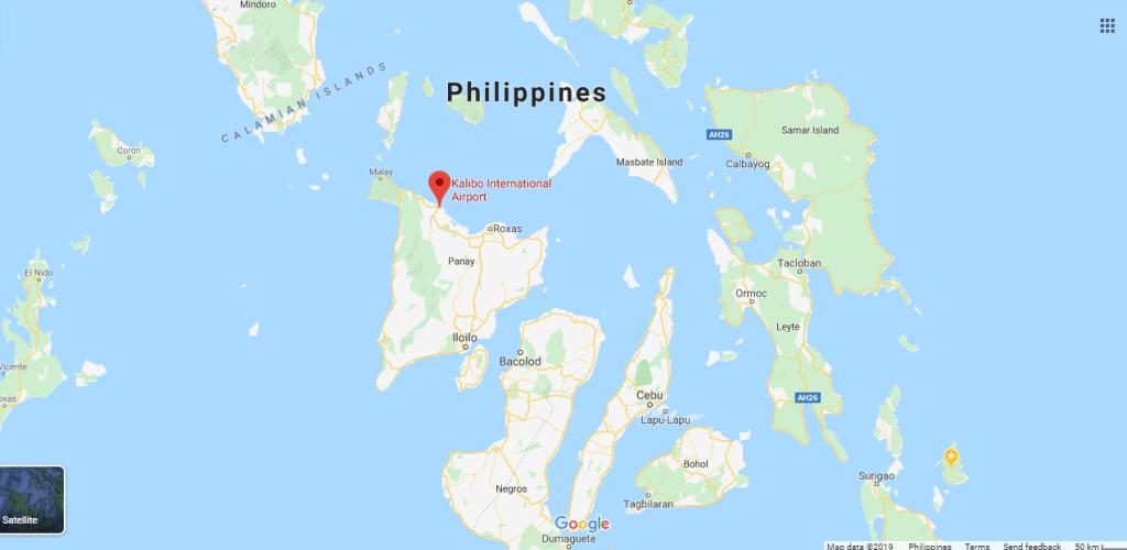 SGMT   Kalibo International Airport   Map