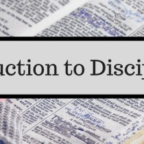 Introduction to Discipleship