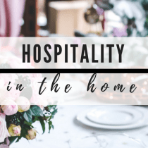 Hospitality in the Home