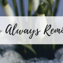 Joy Always Reminds