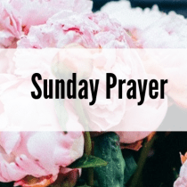 Sunday Prayer