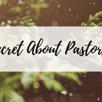 The Secret About Pastors' Kids