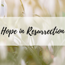 Hope in Resurrection