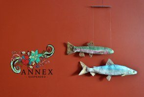 Annex Suspended -painting trout mobile