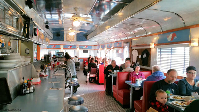 Inside the Madison Diner