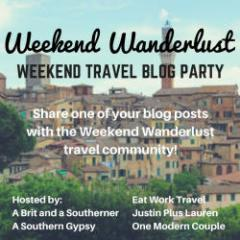 weekend wanderlust badge