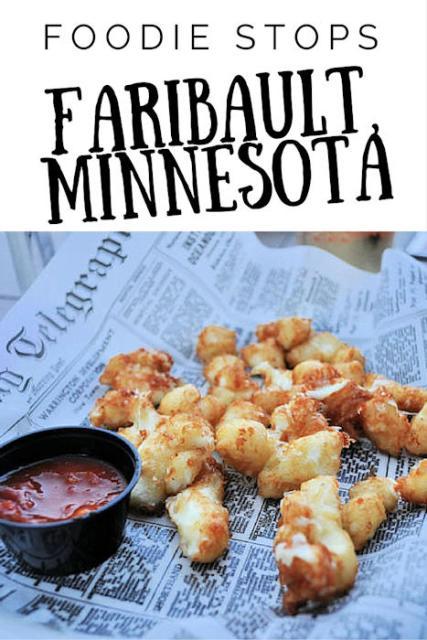 Foodie Stops in Faribault Minnesota