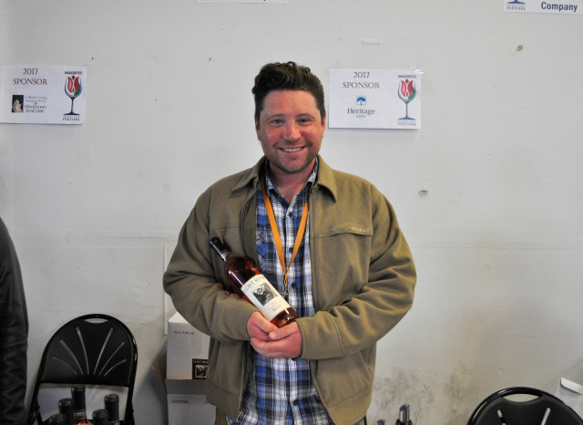 Liam from Lost River Winery
