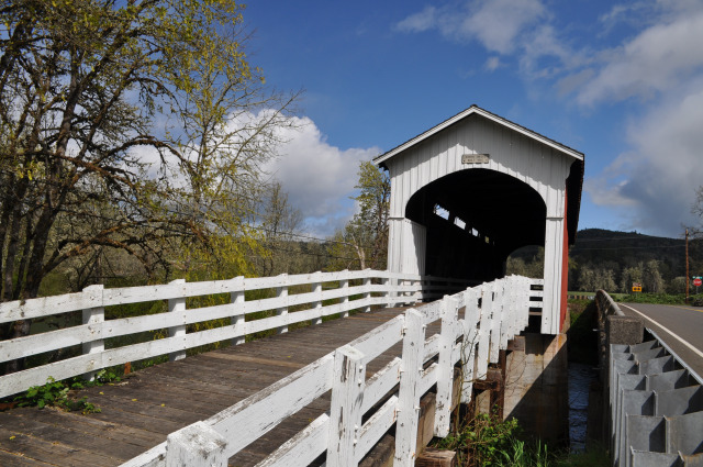 The covered bridges of Cottage Grove, Oregon.