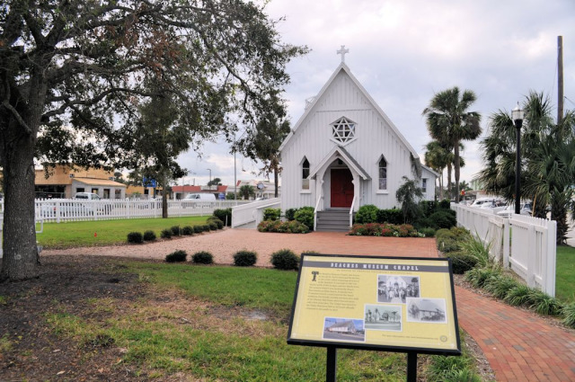 Chapel at Beaches Museum & History Park.