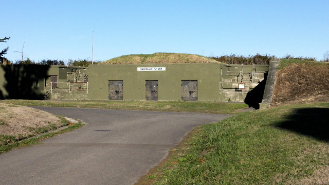 Battery Putnam was used in An Officer and a Gentleman at Fort Worden.