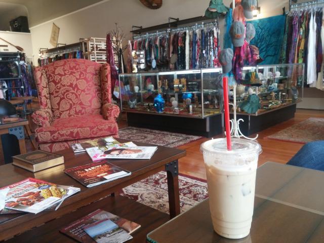 Captain's Quarters Coffee & Tea Bar coffee house in Anacortes, WA.