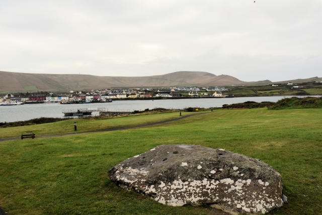 View of Portmagee from Valencia Island.