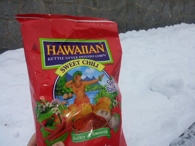 Tim's Cascade Snacks Hawaiian Sweet Chili Chips.
