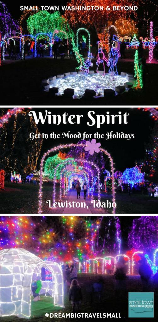 Winter Spirit in Lewiston, Idaho