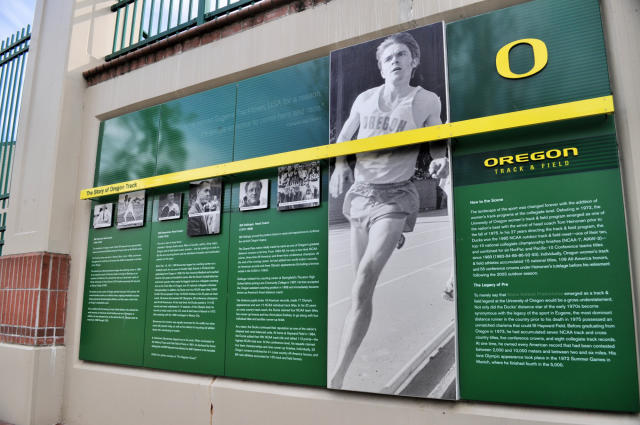 Hayward Field in Eugene Oregon.