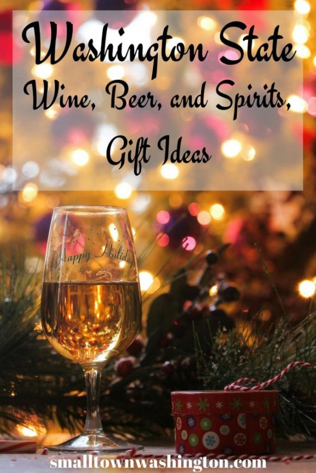 Washington State gift ideas for wine, beer and spirits lovers.
