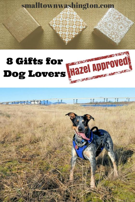 Gifts for dog lovers.