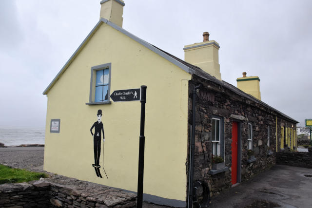 Charlie Chaplin Walk in Waterville, Ireland.