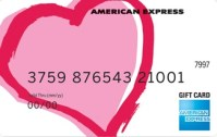 American Express gift card.