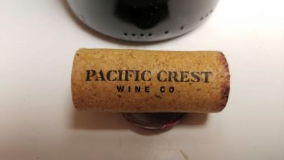 Pacific Crest Wine Co. cork.
