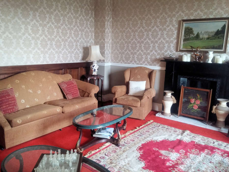 Living room at Carrygerry Country House.