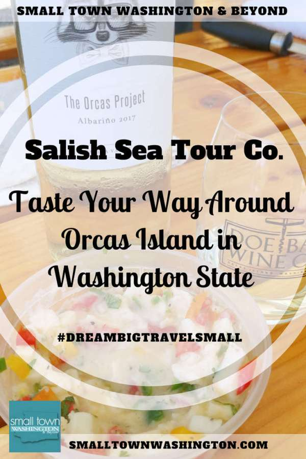 Salish Sea Tour Co on Orcas Island.