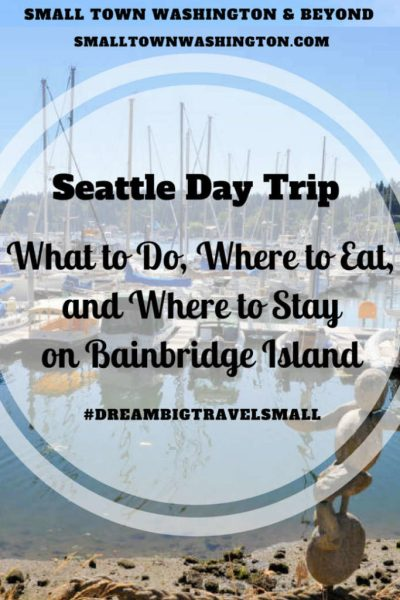 Bainbridge Island pin