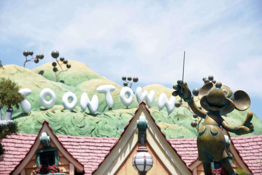 Disneyland in the USA.
