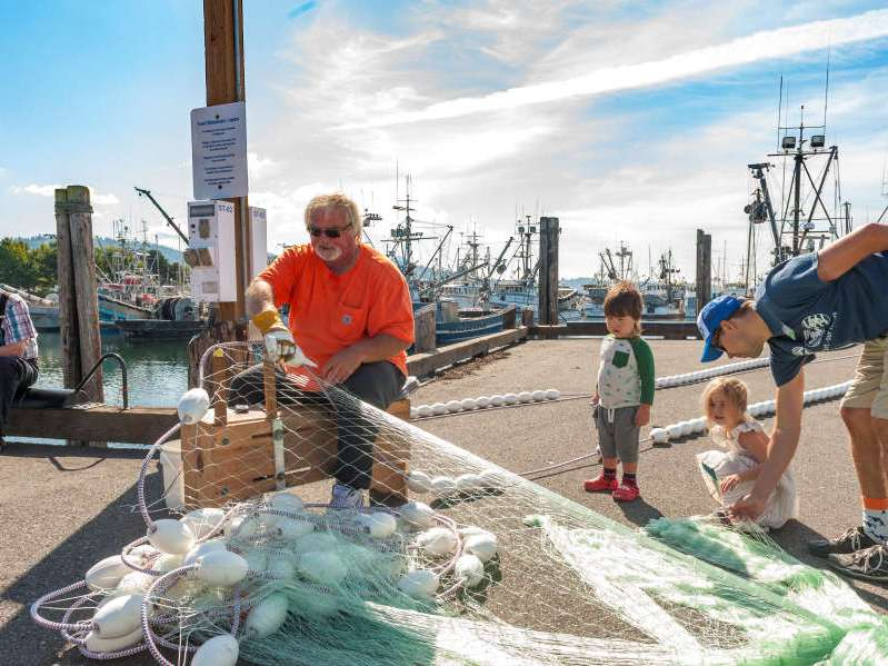 Fishing net at SeaFeast