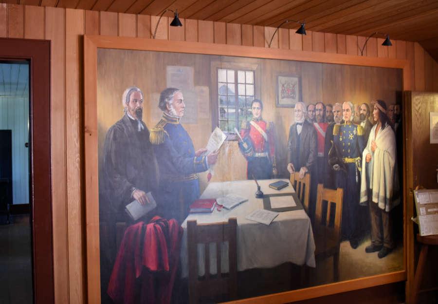 Sir James Douglas proclaims British Columbia a Crown colony.