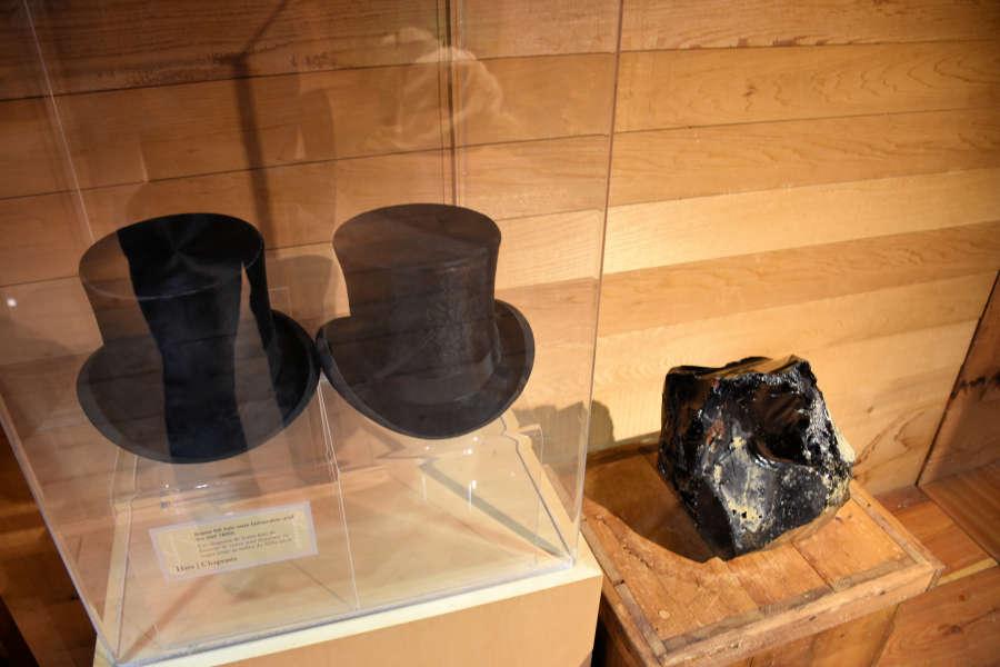 Beaver top hat.