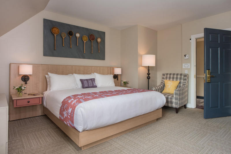 Culinary themed room at The Essex Culinary Resort & Spa.