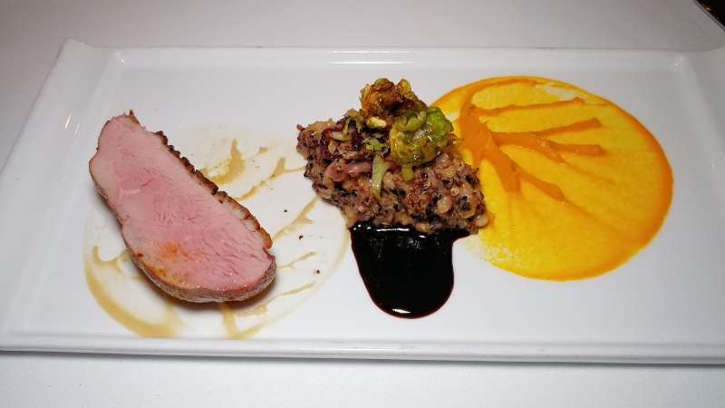 Duck course at at The Bay House in Lincoln City, Oregon.