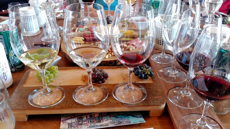 Sawthooth Winery wines.